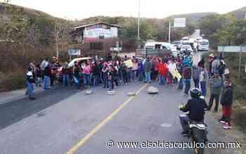 Bloquean carretera Tixtla-Chilapa - El Sol de Acapulco