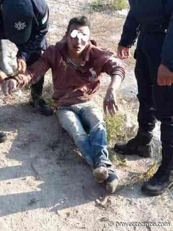 Pobladores le dan una revolcada a presunto ladrón en Tehuacan - Informativo ProyectoCINCO