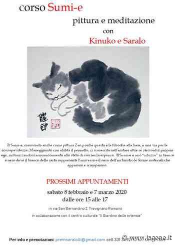 """A Trevignano Romano il Corso """"Sumi-e pittura e meditazione"""" con Kinuko a Saralo il 7 febbraio e 8 marzo dalle ore 15 alle ore 17 - L'agone"""