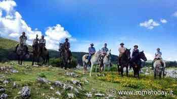 Parata dei cavalli a Trevignano Romano - RomaToday