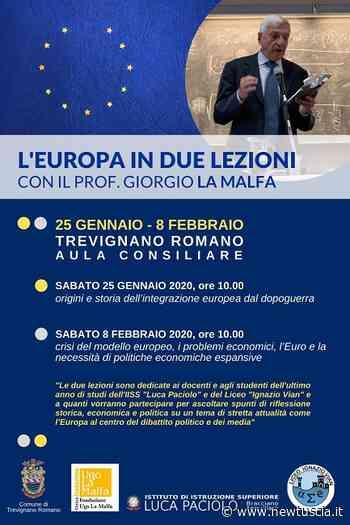 L'Europa in due lezioni a Trevignano Romano | - NewTuscia