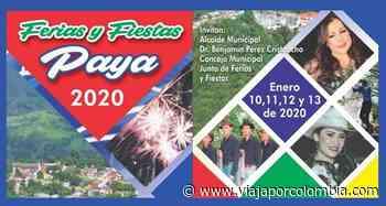 Ferias y Fiestas 2020 en Paya, Boyacá - Ferias y fiestas de Colombia - Viajar por Colombia