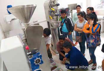 Mazamari: Activan módulo de procesamiento de derivados de cacao - INFOREGION