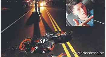 Joven muere tras chocar su motocicleta en Jayanca - Diario Correo