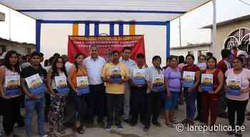 Lambayeque: entregan 62 títulos de propiedad en Jayanca - LaRepública.pe