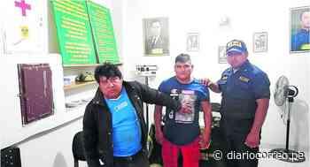 """Policías detiene a""""Los Leñeros de Jayanca"""" - Diario Correo"""