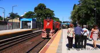 Volvió a parar el tren en Carapachay y hay optimismo entre los comerciantes - Clarín