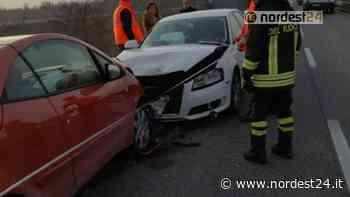 Incidente tra Spilimbergo e Dignano: tamponamento a catena - Nordest24.it