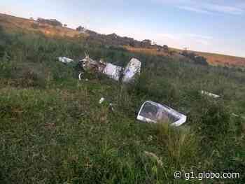 Monomotor que caiu e matou duas pessoas em Visconde do Rio Branco não podia ser usado para acrobacias - G1