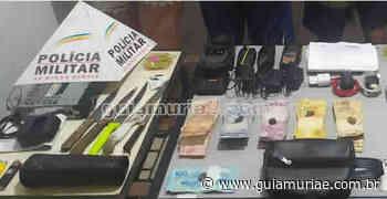 Sete são detidos por tráfico de drogas em Visconde do Rio Branco - Guia Muriaé