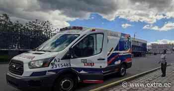 Motociclista quedó herido tras accidente en Machachi - Portal Extra