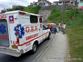 Una mujer quedó lesionada en accidente en la Glorieta de El Guamal - BC Noticias