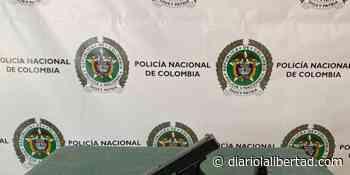 Policía incauta arma traumática en Guamal - Diario La Libertad