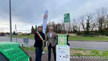 Auto elettriche, Motta di Livenza inaugura una nuova colonnina per la ricarica - TrevisoToday
