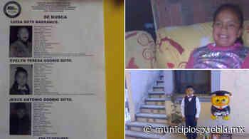 Luisa desapareció con sus dos hijos en Acajete; ayuda a encontrarlos - Municipios Puebla