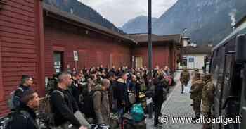 A San Candido 148 giovani volontari dell'Esercito: in montagna per diventare alpini - Alto Adige