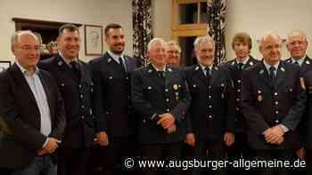 Kommandowechsel in der Feuerwehr Hegelhofen nach 43 Jahren - Augsburger Allgemeine