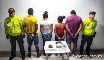 4 personas capturadas tras operativo contra el microtráfico en Magangué - Caracol Radio