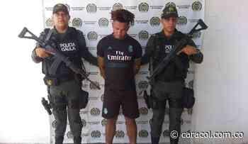 """Por extorsión Gaula captura a alias """"Pinki"""" en Magangué, Bolívar - Caracol Radio"""
