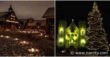 A Beautiful Ontario Village Transforms Into A Magical Candlelit Wonderland This Winter - Narcity