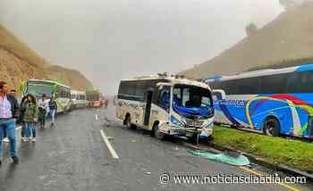 Accidente entre Villapinzón, Cundinamarca, y Tunja,... - Noticias Día a Día