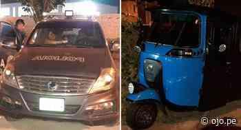 Paramonga: sicarios asesinan a balazos a sereno al interior de mototaxi│VIDEO - Diario Ojo