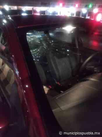 Vándalos arrojan piedras a conductores en la federal Acajete-Oriental - Municipios Puebla