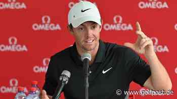 """Rory McIlroy: """"Ich will die Nummer eins der Welt sein"""" - Golf Post"""