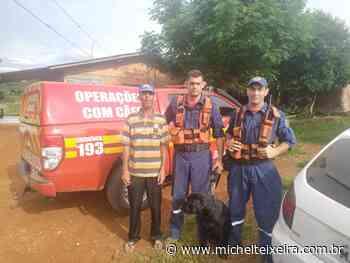 Bombeiros e Cão Hunter localizam homem que havia desaparecido em Fraiburgo - Michel Teixeira