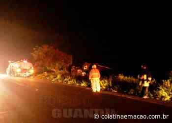 Caminhão de combustíveis tomba na BR-259, em Baixo Guandu/ES - Colatina em Ação