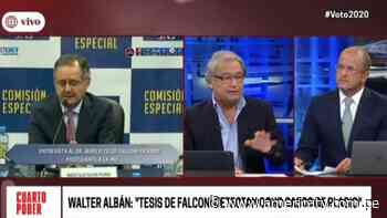 Walter Albán: En tesis de Marco Falconí detectan ocho casos de plagio - América Televisión