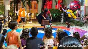 Cia Lamparim de Quixeramobim é atração no Dragão do Mar com espetáculo Ser Tão Palhaços - Blogs Diário do Nordeste