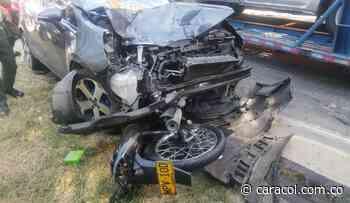 Accidente deja dos personas sin vida en Yotoco - Caracol Radio