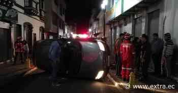 Accidentes de tránsito dejan dos heridos en Cayambe - Portal Extra