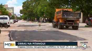 Copasa realiza reparos na Avenida JK e Rua Pitangui em Divinópolis - G1