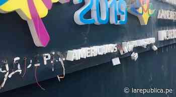 Lima 2019: sede de Villa María Del Triunfo luce descuidada y en abandono [FOTOS] - LaRepública.pe
