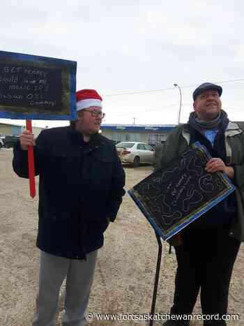 "Coal for Kenney protest visits Vegreville; MLA calls it ""threatening"" - Fort Saskatchewan Record"
