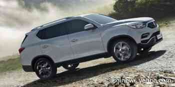 SsangYong Rexton Bags 'BEST VALUE 4X4 2020' Anew in UK - Yahoo Singapore News