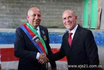 Tercer período como alcalde de Apía - Eje21