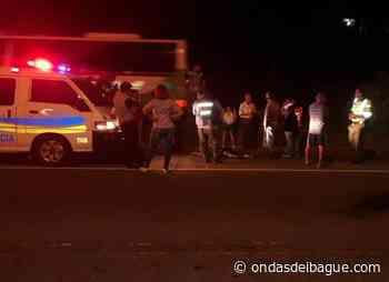 Una persona murió tras el choque de una Turbo Diesel de servicio oficial y una camioneta - Ondas de Ibagué