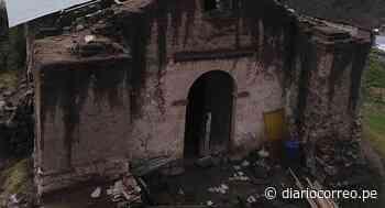Iglesia de Pampamarca al borde del colapso por lluvias - Diario Correo