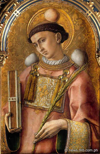 Feast of Saint Stephen on Dec. 26 - Manila Bulletin
