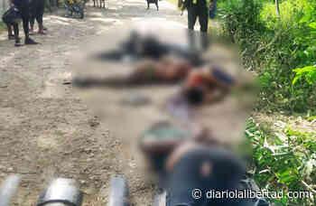 Triple crimen en Tamalameque, Cesar: Víctimas habían salido a cobrar un dinero - Diario La Libertad