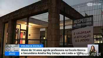 Em Linda-a-Velha. Professora agredida por aluno - RTP