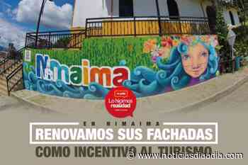 Se renovaron las fachadas como incentivo al turismo en Nimaima,... - Noticias Día a Día