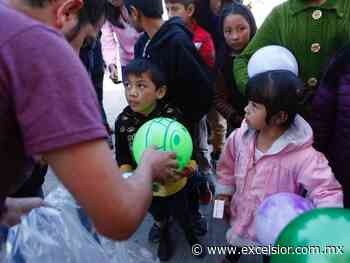 Reyes Magos no olvidan a niños con cáncer de Amecameca - Excélsior