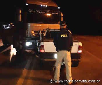 Caminhão com placas de Getúlio Vargas se envolve em acidente com óbito em Frederico Westphalen - Jornal Bom Dia