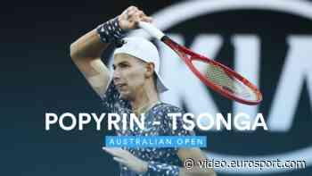 VIDEO - Australian Open 2020 highlights: Jo-Wilfried Tsonga retires hurt as Alexei Popyrin advances - Australian Open - Eurosport.com