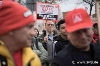 Osram Herbrechtingen: Osram-Werk Herbrechtingen droht Streichung von 315 Stellen - Protest der Mitarbeiter - SWP