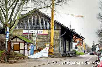 Ehemaliges Bürgerprojekt in Freiberg am Neckar - Güterschuppen wird zum Hotel umgebaut - Stuttgarter Zeitung